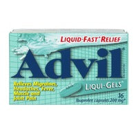 Advil 200 mg Liqui-Gels 16's