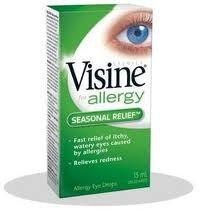 Visine For Allergy Seasonal Relief 15 ml