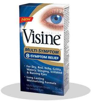 Visine Multi-Symptom Eye Drops 15ml