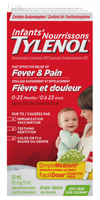 Tylenol Infant's For Fever & Pain grape dye free 0-23 Months