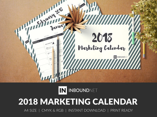 2018 Marketing Calendar