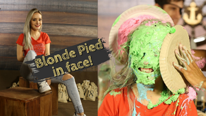 [Teaser] Beautiful blonde takes pie in the face | Pilot - the beginning [Bela loira toma torta na cara]