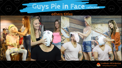 Pie Face Guys Challenge