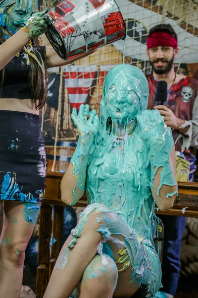 slimed girls
