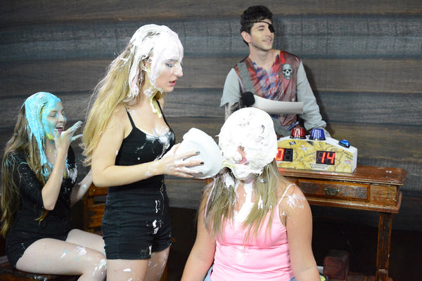 Special Nicoly taking many pies in the face and slimed and friends (Full Program 03 and 08)