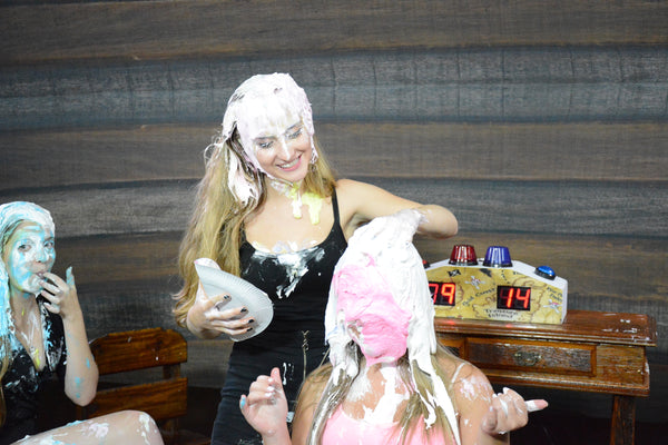 Pie Face Game - Beautiful Girls Part 2 - FullHD.mp4