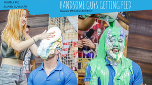 Handsome Guys Getting Pied