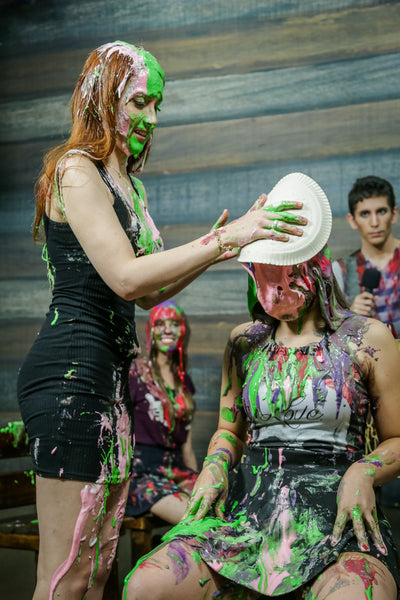 Program 2 - Part 2/3 (Beautiful girls in with pie in the face - girls vs girls) - FullHd.mp4
