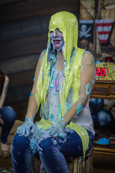 slimed girl