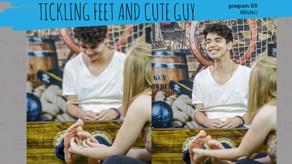 male feet tickling