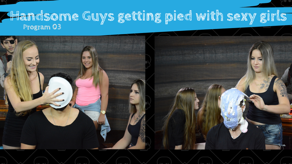 Handsome Guys Getting Pied - Game Show - FullHD.mp4