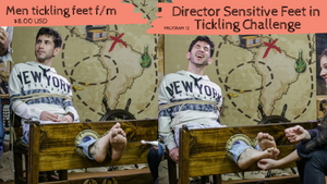 Men director tickle (male ticklish feet sensitive soles) - Program 12