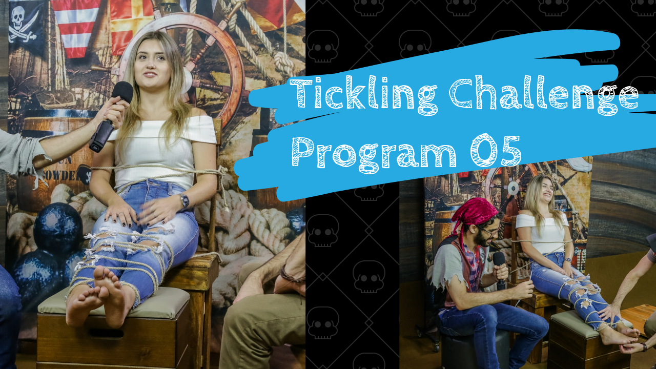 Tickling Challenge / Program 05 - Part 02 Hellen (FullHD 1920x1080)