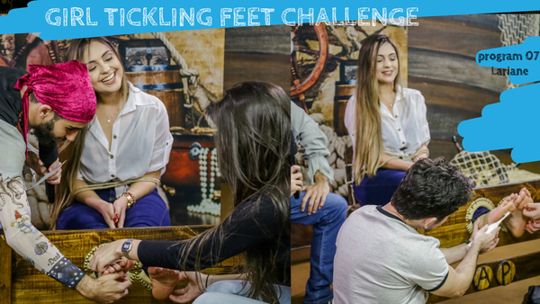 Girls Tickling Challenge - Program 07 (Lariane)