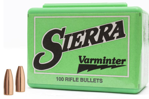 SIERRA RIFLE BULLETS - VARMINTER
