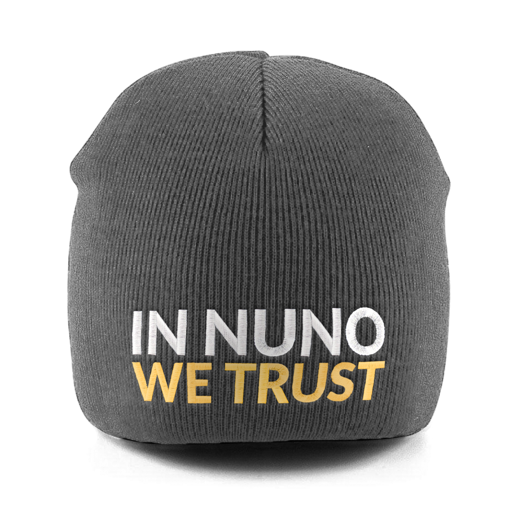 In Nuno We Trust Pull-on Beanie