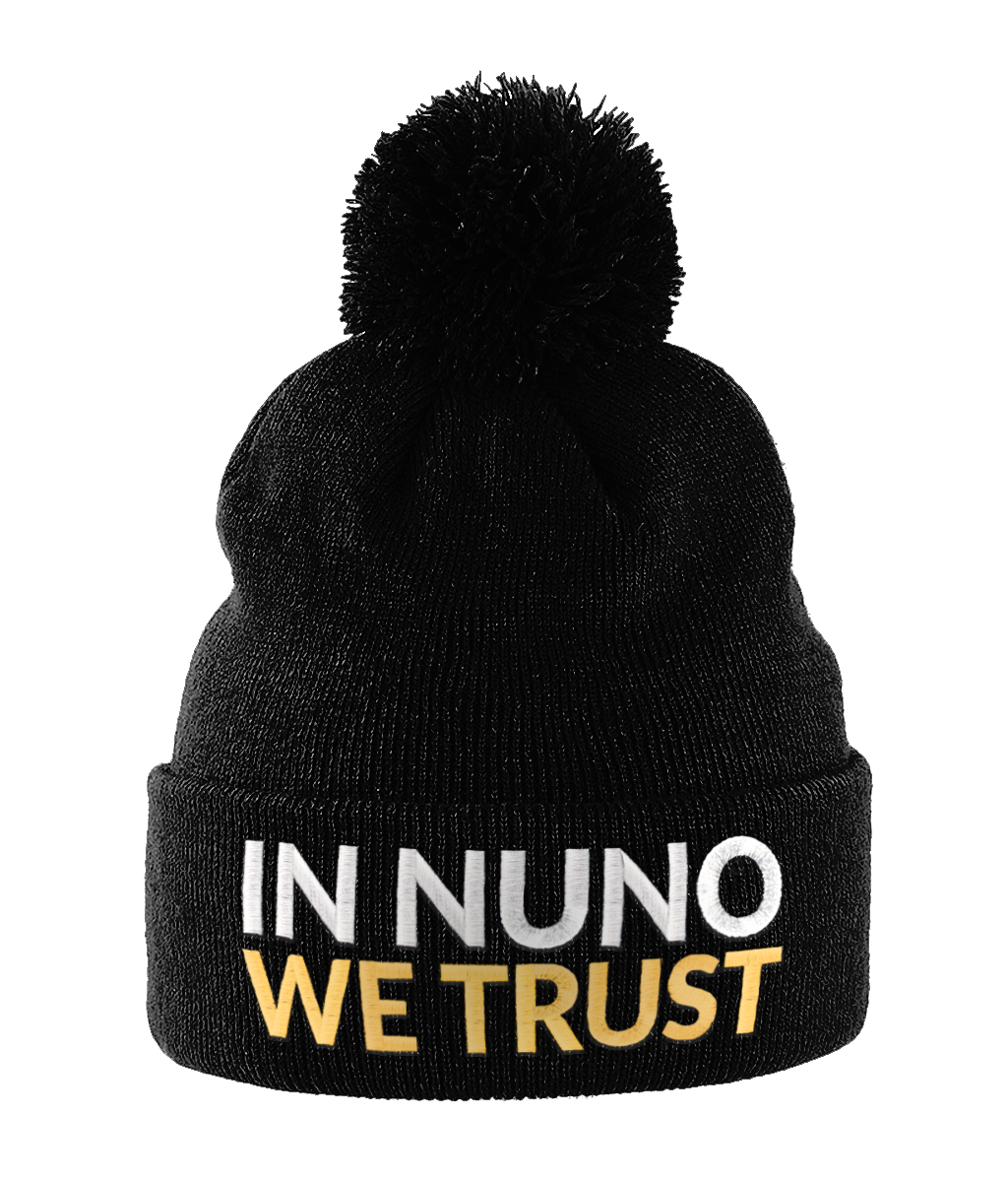 In Nuno We Trust Bobble Beanie