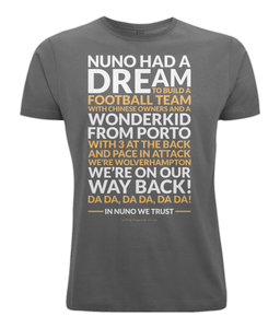 Nuno Had A Dream (Three)