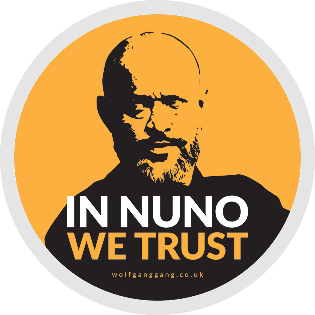 In Nuno We Trust Car/Van Sticker