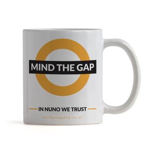 Mind The Gap Mug