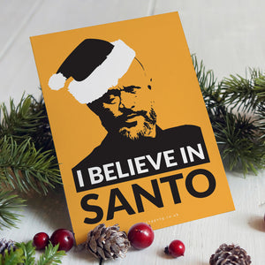 I Believe In Santo Christmas Cards