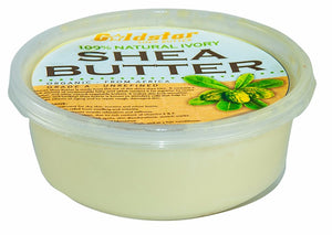 How to use Goldstar Unrefined Shea Butter for your Hair and Skin