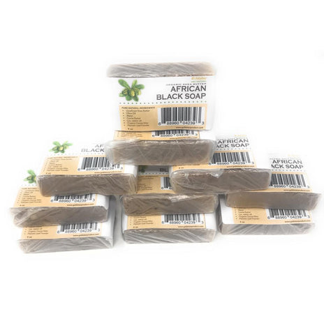 Goldstar Organic Shea Butter African Black Soap – 4 OZ (10 PACK)