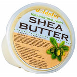 Goldstar 100% Grade A Raw Unrefined Organic Shea Butter (16 oz) - Ivory or Yellow