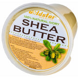 Goldstar 100% Grade A Raw Unrefined Organic Shea Butter 32 OZ (2 Pounds)
