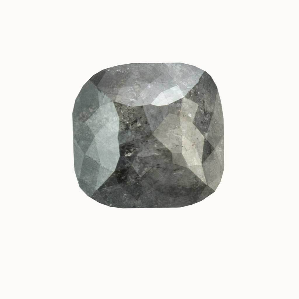 1.45 ct. Galaxy Grey Cushion Diamond