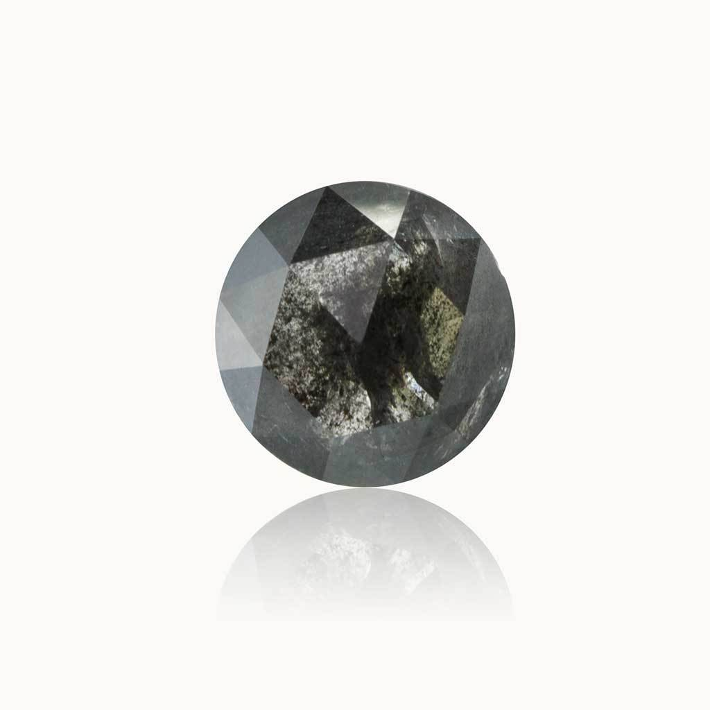 0.99 ct. Galaxy Grey Round Diamond