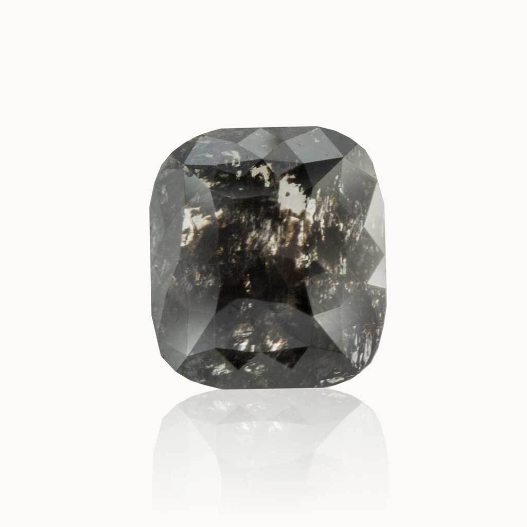 1.27 ct. Galaxy Grey Cushion Diamond