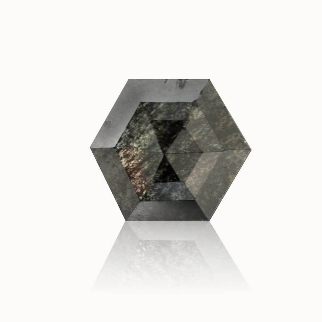 0.44 ct. Galaxy Grey Geometric Diamond