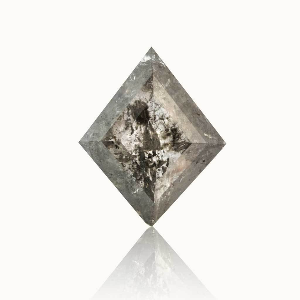 0.41 ct. Grey Salt & Pepper Kite Diamond
