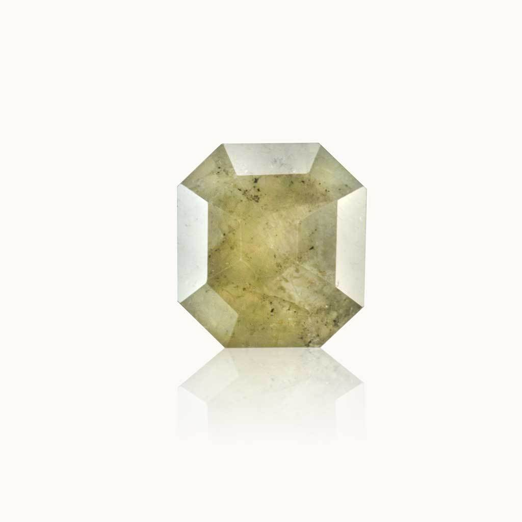 0.62 ct. Stardust Grey Emerald Diamond