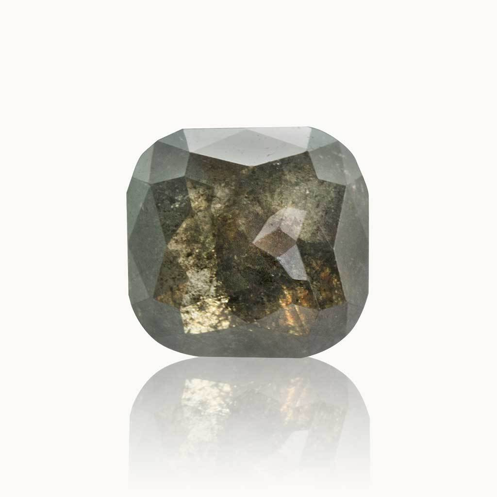 1.27 ct. Ash Grey Cushion Diamond