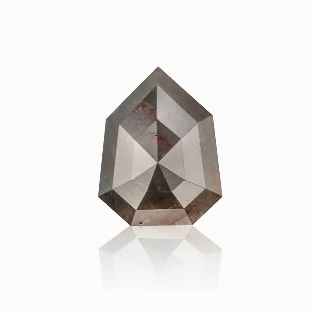 1.48 ct. Milky Grey Geometric Diamond