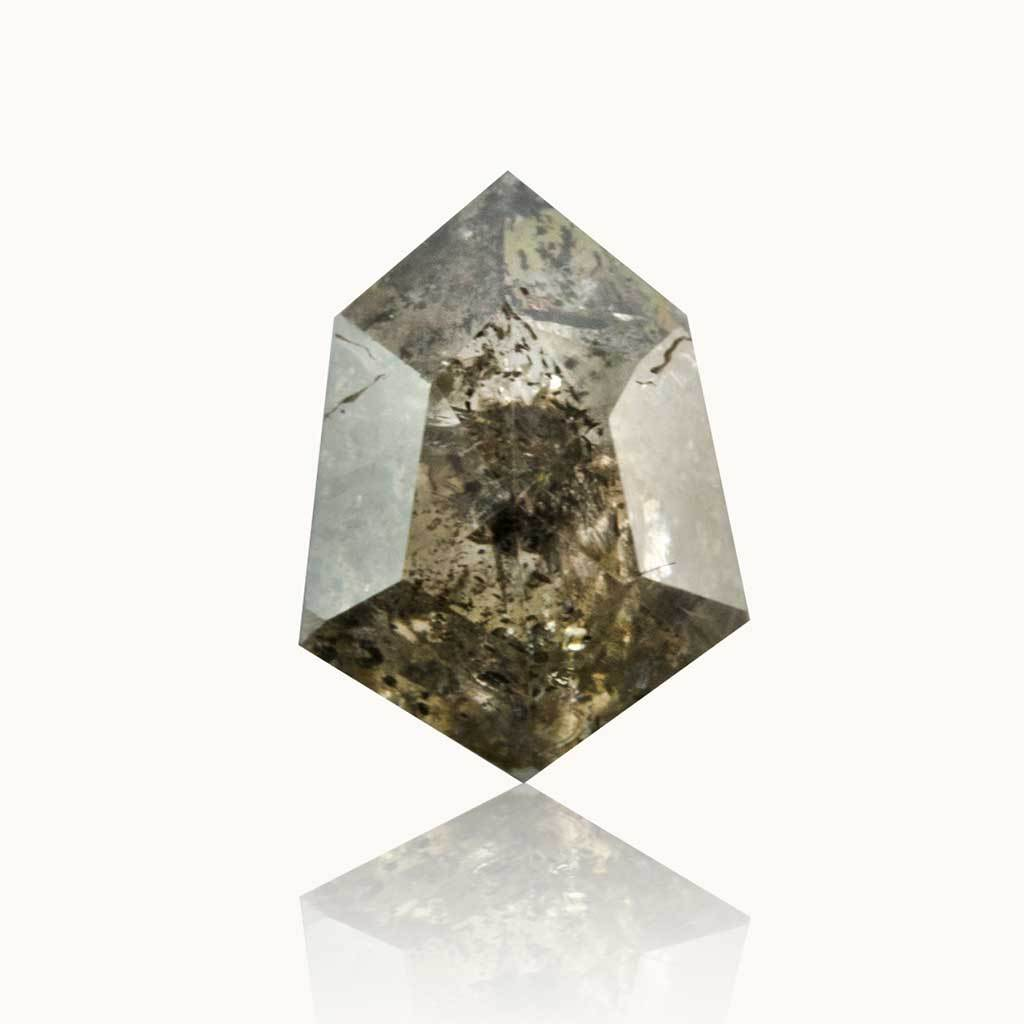 1.04 ct. Grey Salt & Pepper Geometric Diamond