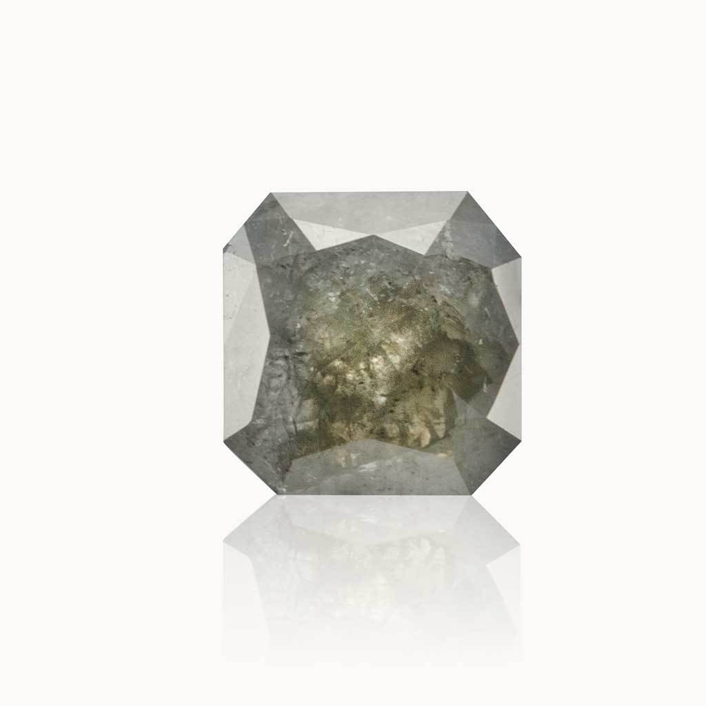 1.45 ct. Milky Grey Geometric Diamond
