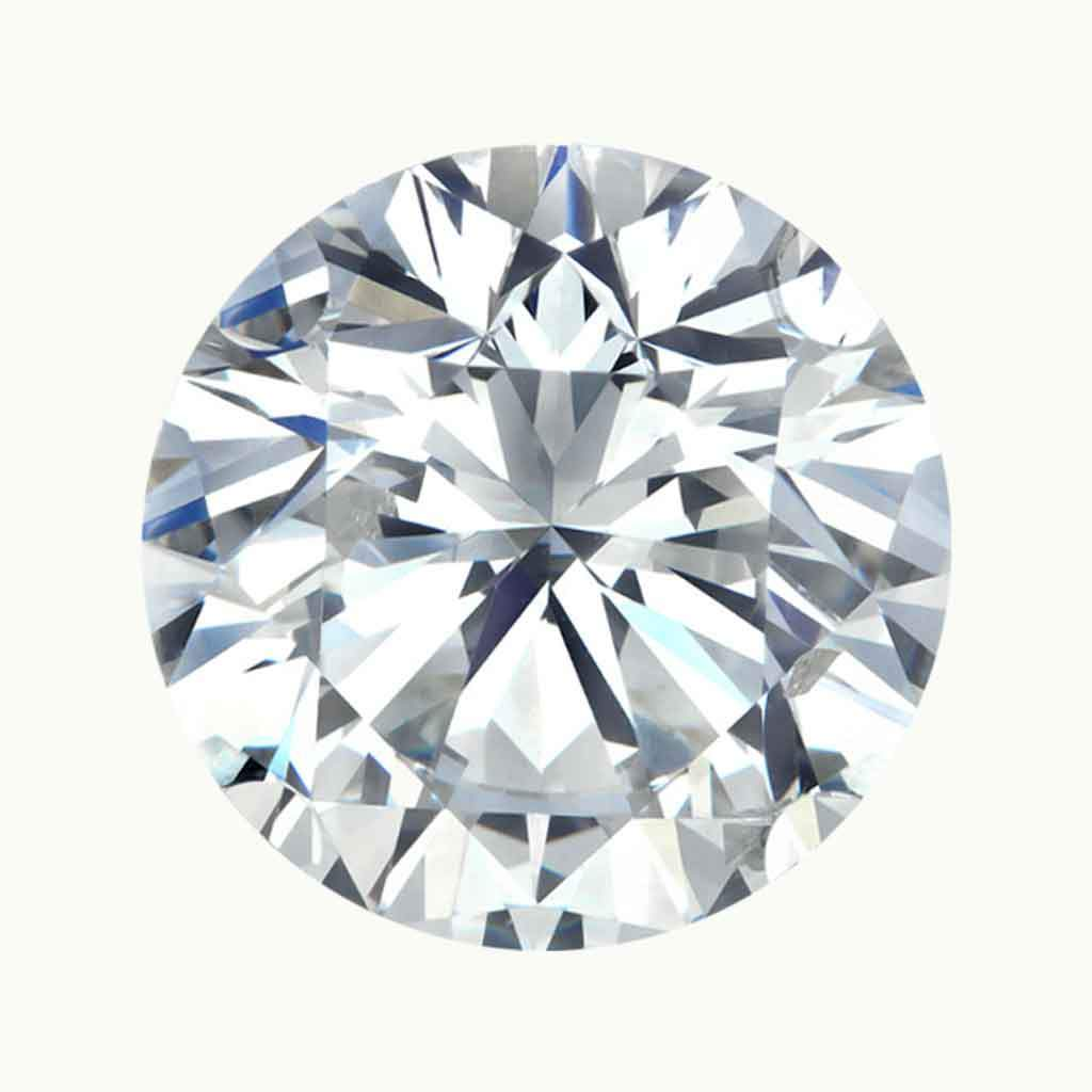 2.0 ct. Round Lab Grown Diamond