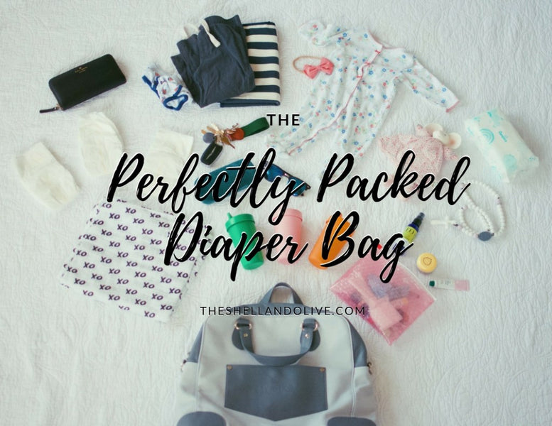 The Perfectly Packed Diaper Bag: With Myarka by Theshellansolive.com