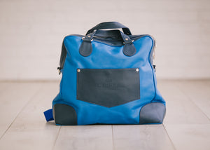Diaper Bag I New York Myarka Leather
