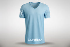 Sky Blue V Neck t-shirt