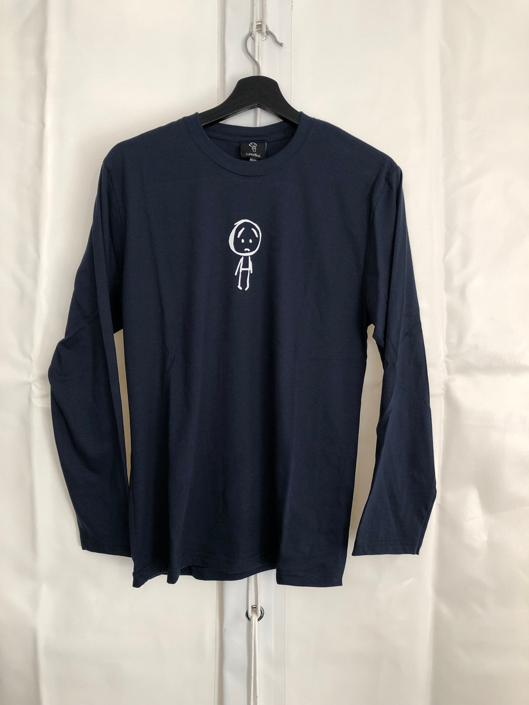 LoneBoi Navy Blue Long Sleeve