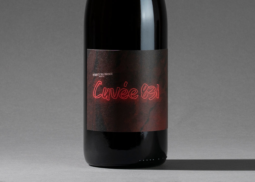 "Load image into Gallery viewer, 2018 Coastview Vineyard ""Cuvée 831"" Pinot Noir/Chardonnay Co-Ferment"