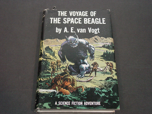 The Voyage of the Space Beagle, A.E. Van Vogt, DJ, 1ST EDITION, 1950