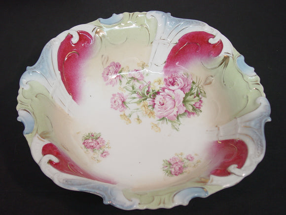 Theodor Lehmann T.L. Hand Painted 10 1/2″ Bowl