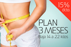 15% DCTO. PLAN INTERMEDIO 3 MESES