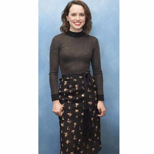 Daisy Ridley Wears The Whitney Top And Petworth Skirt