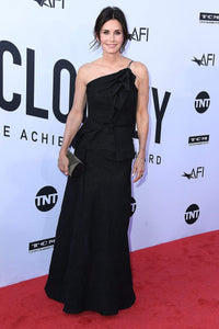 Courteney Cox wears the PF18 Novak Gown